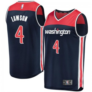 Fanatics Branded Washington Wizards Swingman Navy Ty Lawson Fast Break Jersey - Statement Edition - Men's