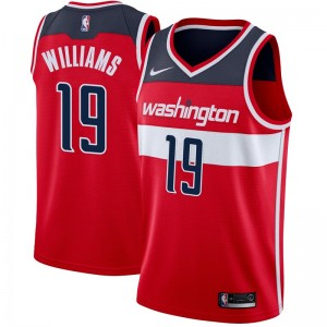 Nike Washington Wizards Swingman Red Johnathan Williams Jersey - Icon Edition - Youth